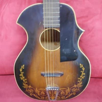 Kay Kraft Venetian Archtop Acoustic 1930's Sunburst standard model standard binding
