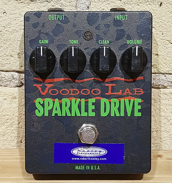 voodoo lab sparkle drive overdrive w keeley mod reverb. Black Bedroom Furniture Sets. Home Design Ideas