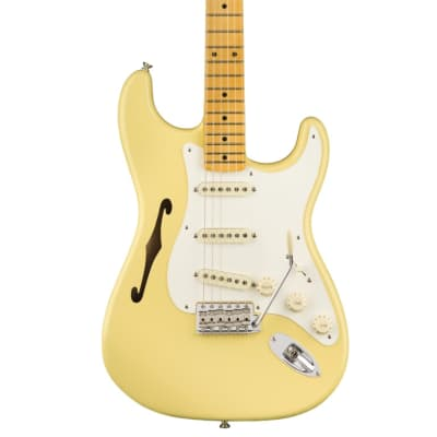 Fender ERIC JOHNSON SIGNATURE STRATOCASTER THINLINE 2018 Vintage White