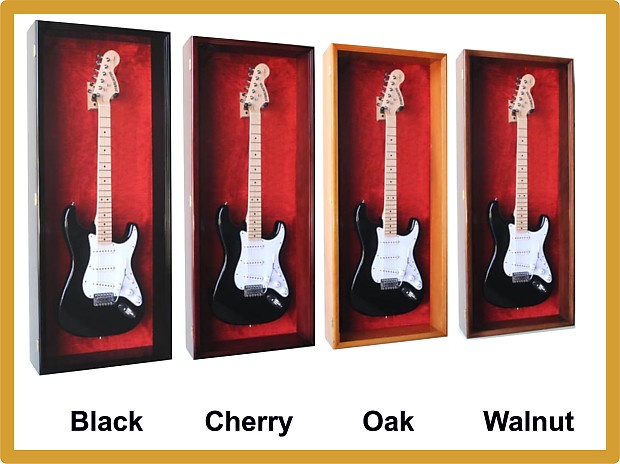 Guitar Display Wall Cabinet | Music Head