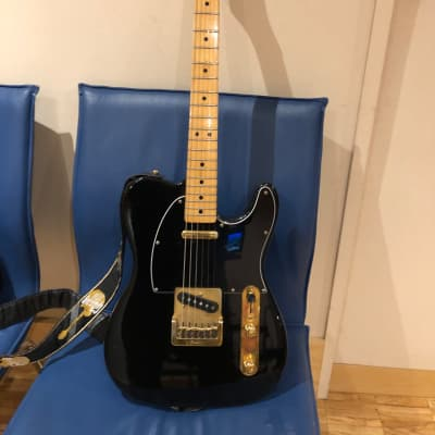 Fender Telecaster Black & Gold Limited Fullerton 1981/1983 Black for sale