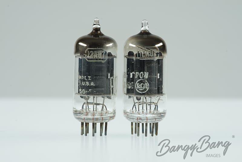 Platinum Matched Pair RCA 12AU7 5814 Audio Tube ECC82 BangyBang Tubes