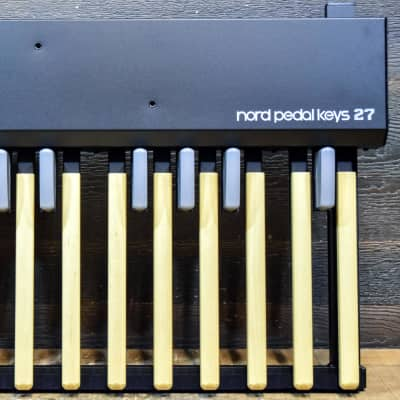 Nord Pedal Keys 27 Nord C2 Organ Bass Key with Swell Controller MIDI Pedal Board