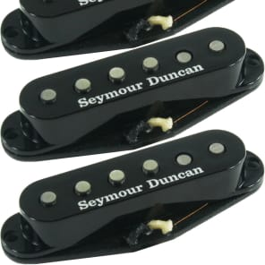 Seymour Duncan SSL-52s Five-Two Alnico 5/2 Strat Neck/Middle/Bridge Pickup Set, Black