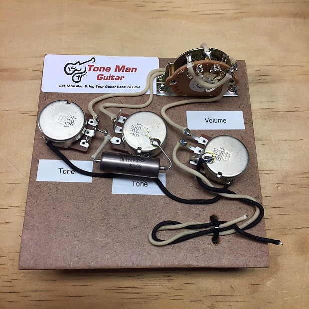 Stratocaster Prewired Wiring Harness Kit