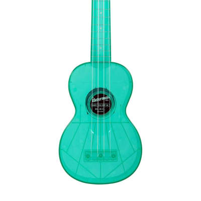 Kala Waterman Soprano Ukulele Gloss Blue