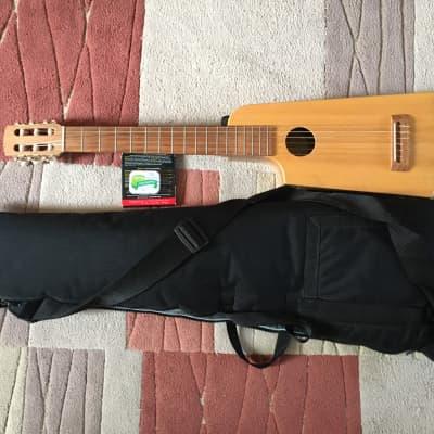 LEFT Handed - Go Guitar - Sam Radding Walnut Grande - Nylon String 2001 Natural for sale