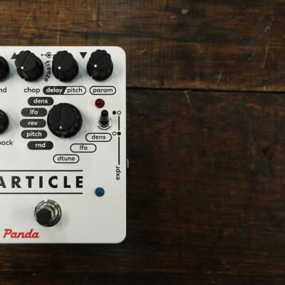 Red Panda Particle - Pedal on ModularGrid