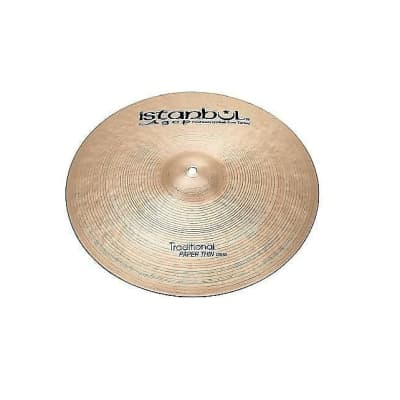 """Istanbul Agop 14"""" Traditional Paper Thin Crash Cymbal"""