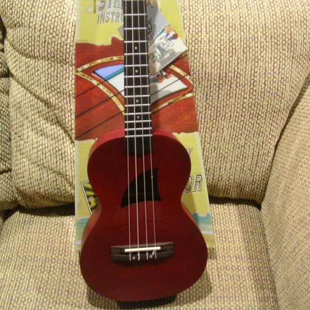New Eddy Finn Tenor Ukulele w/Aquila Strings , EF-1T,  w/ Free Picks & Free Shipping In Cont. USA image
