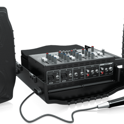 Behringer PPA200 200-Watt 5-channel Portable PA Speaker System