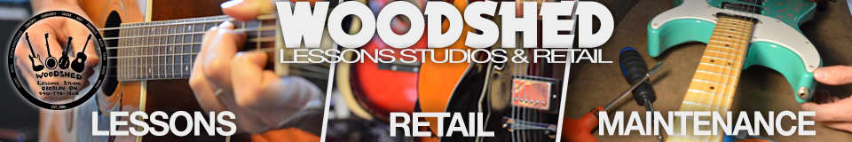 Woodshed Lessons & Retail