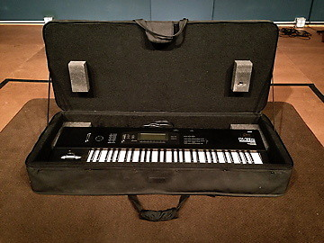 Korg 01/W-FD 61-Key Workstation Synthesizer with ProTec Padded Hard-Case