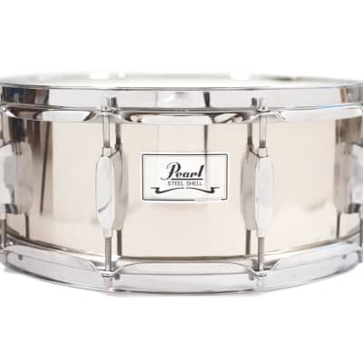 Pearl Steel Shell Snare Drum - 14x5.5