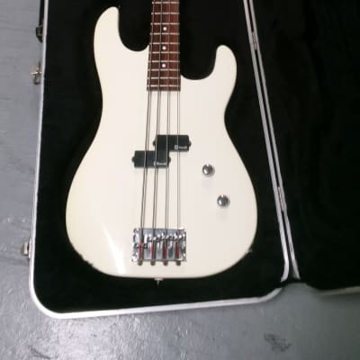 Charvel P Bass CX 492 White with Hard Case for sale