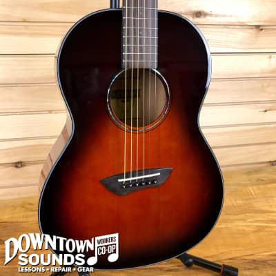 Yamaha CSF1M Parlor Guitar - Tobacco Brown Sunburst - with Gig Bag