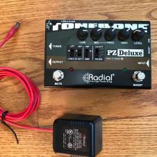 Radial Tonebone PZ-Deluxe Preamp Footpedal DI XLR