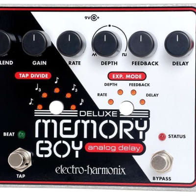 Electro Harmonix Deluxe Memory Boy Delay Effects Pedal for sale