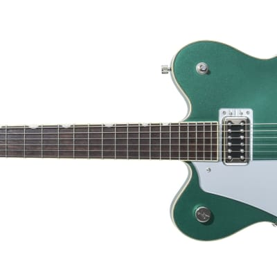 Gretsch G5622LH Lefty Electromatic CB Double-Cut with V-Stoptail, Georgia Green