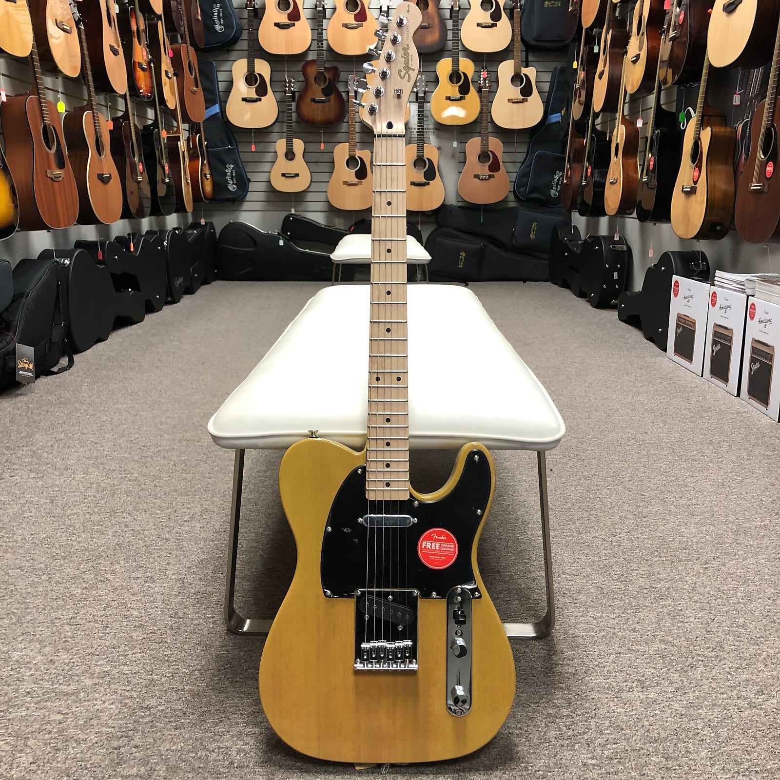 Squier Affinity Telecaster - Butterscotch Maple Fretboard