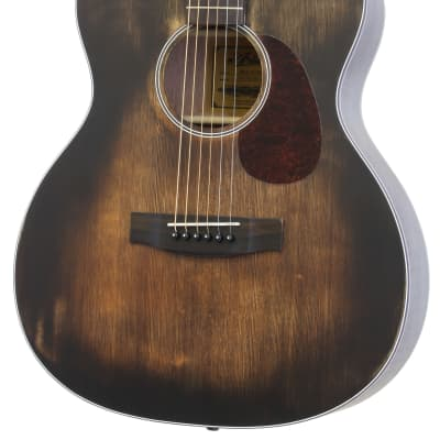 "Aria ARIA-101DP  Muddy Brown  ""OM"" Orchestra Model for sale"