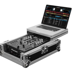 "Odyssey FZGS10MX1 Flight Zone Glide Style Low Profile Universal 10"" DJ Mixer Case"