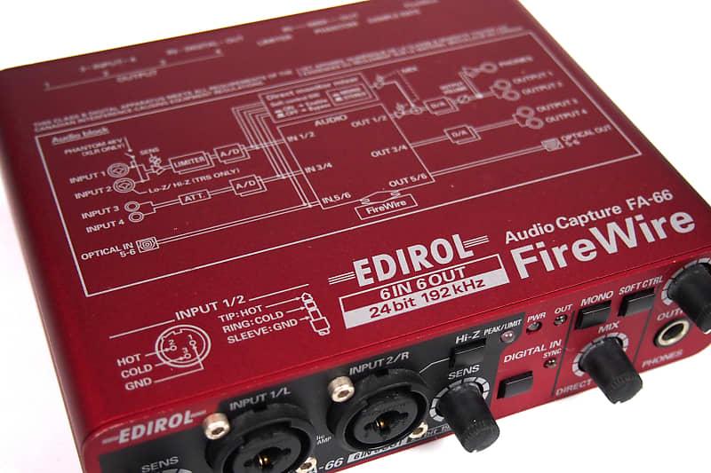EDIROL FA-66 DRIVER FOR WINDOWS 10