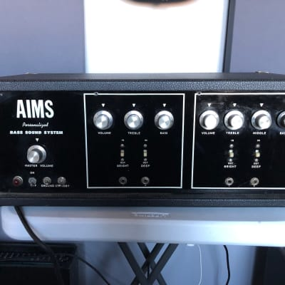 AIMS VTB-120 1970s Bass/Guitar Tube Amp - 120 watts - Made in the USA! for sale