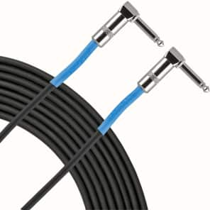 "Live Wire EG3LL Advantage Series 1/4"" TS Right-Angle to Right-Angle Instrument Cable - 3'"