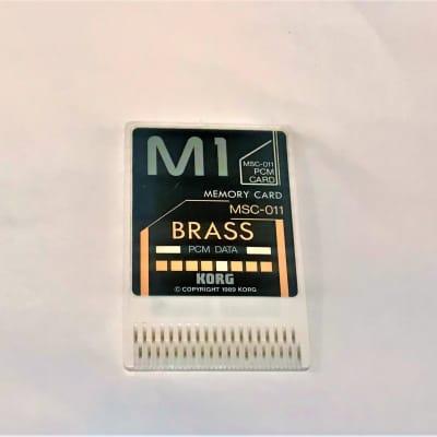 PCM Data.  Korg M1. MSC 011