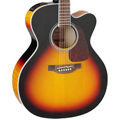 Takamine GJ72CE BSB Jumbo Cutaway Acoustic-Electric Guitar, Sunburst for sale