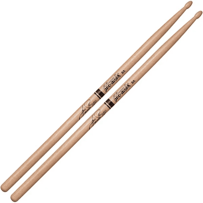 Pro-Mark TX8AW Hickory 8A Wood Tip Jim Rupp Drum Sticks