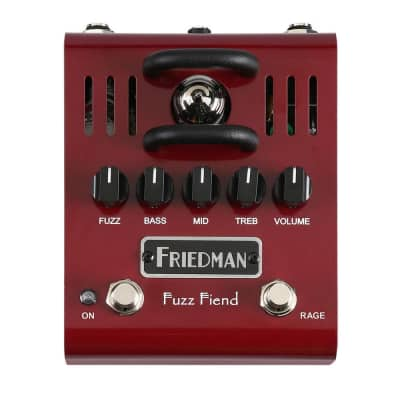 Friedman Fuzz Fiend 12AX7 Tube Powered Fuzz for sale