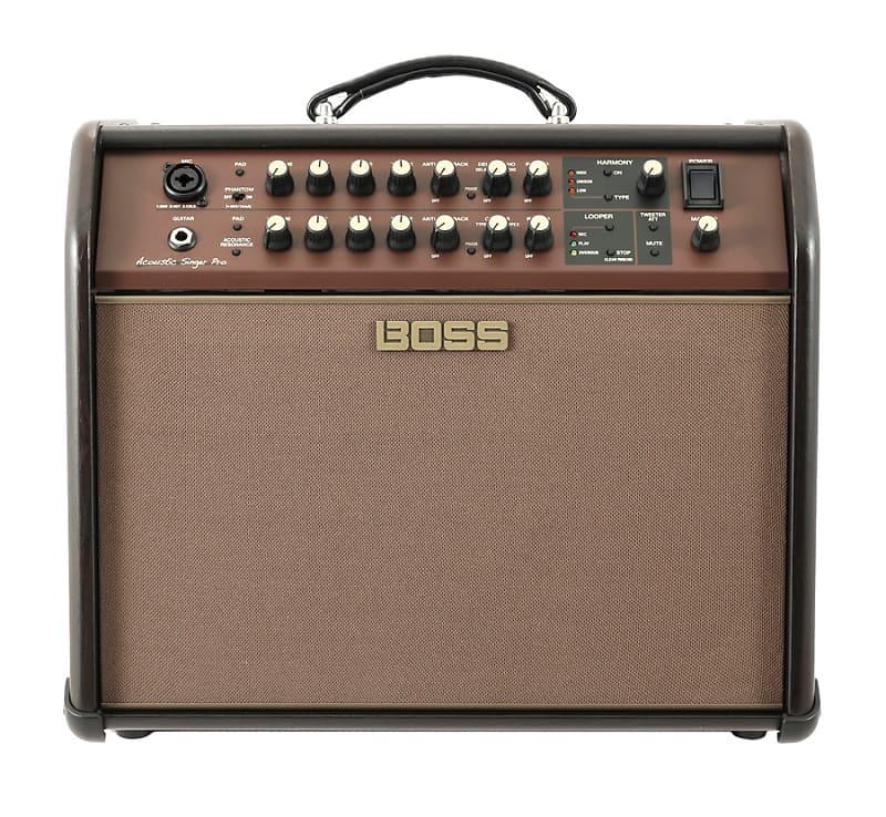 Boss Acoustic Singer Pro 120 Watt Acoustic Guitar Amplifier Reverb