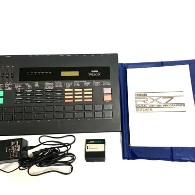 "[Price cut] Yamaha RX7 Rhythm Programmer Drum Machine ""Japan Bindage"""