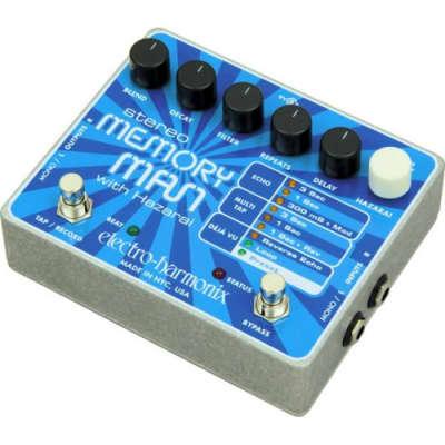 Electro-Harmonix Stereo Memory Man with hazarai eco y multitap delay 2010
