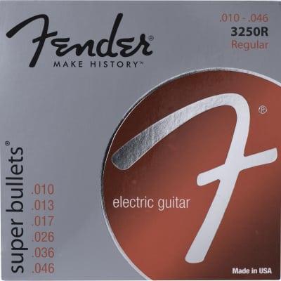 Fender 733250406 3250R Super Bullet Electric Guitar Strings Set, .010 -.046