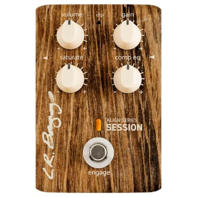 LR Baggs Align Series Session Acoustic Saturation/Compressor/EQ Guitar Effects Pedal