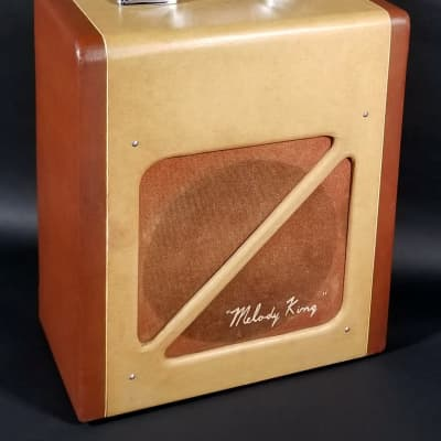 "Vintage 1955 Bronson Valco ""Melody King"" guitar & harp amp, all orig, and in excellent shape! for sale"