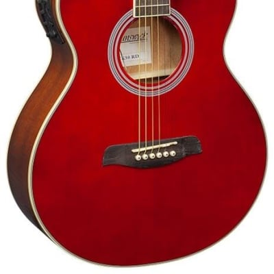 Brunswick BTK50 RD Grand Auditorium Electro-Acoustic Cuttaway Guitar for sale