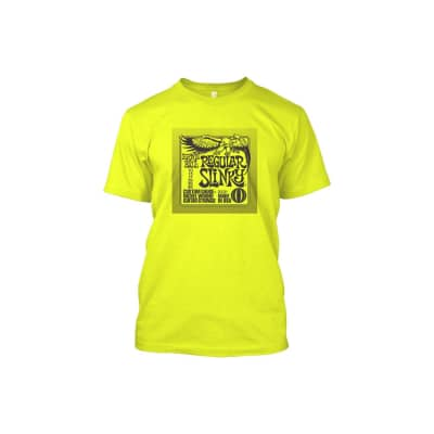 Ernie Ball 4725 - T-shirt Ernie Ball Regular Slinky taglia S for sale