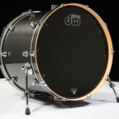 DW Performance Series 18x24 Bass Drum Gun Metal