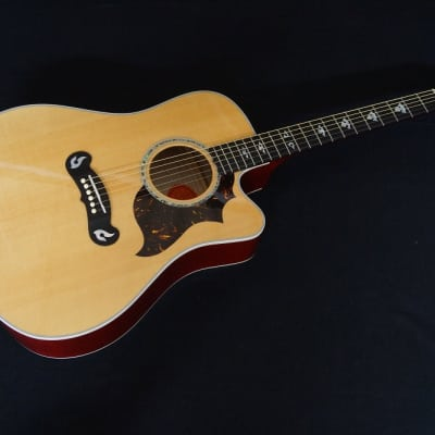 Gibson Dove Artist Cutaway Prototype 2002 natural/cherry for sale