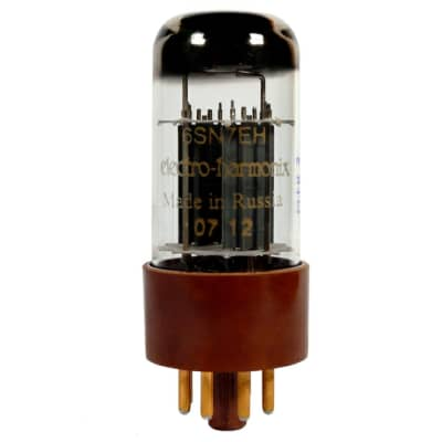 Electro-Harmonix 6SN7EHG | Twin-Triode Tube with Gold Pins. New with Full Warranty!