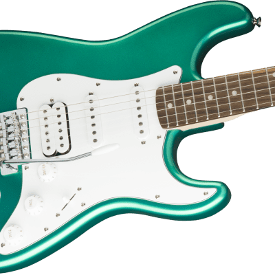 Squier Affinity Series Stratocaster HSS, Laurel Fingerboard, Race Green for sale