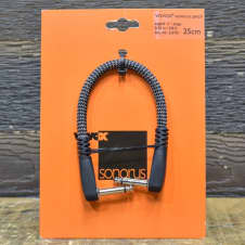 """VOVOX Sonorus Patch Cable Angled 1/4"""" Plugs 0.25m / 0.8ft"""