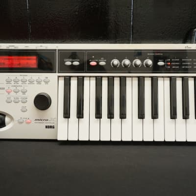 Korg Micro X Synthesiser & Controller With Case Compact Portable MIDI FX & MORE!