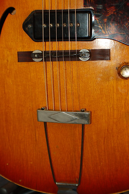 video demo 1965 gibson es 125 dc full size body cutaway reverb. Black Bedroom Furniture Sets. Home Design Ideas