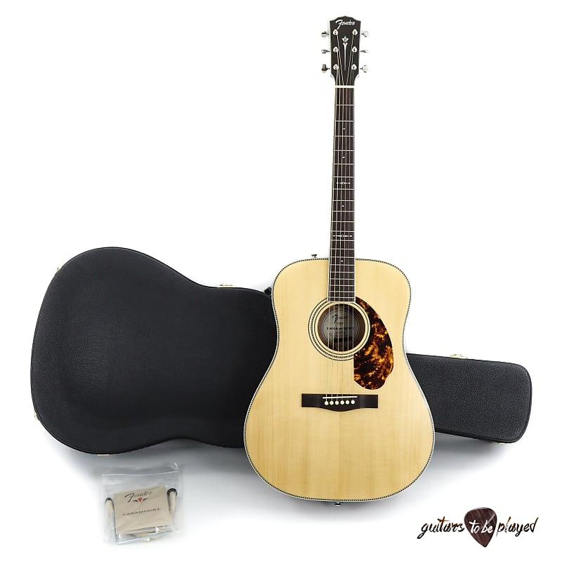 Fender PM-1 Limited Adirondack Spruce/Mahogany Acoustic/Electric Guitar w/ Case image