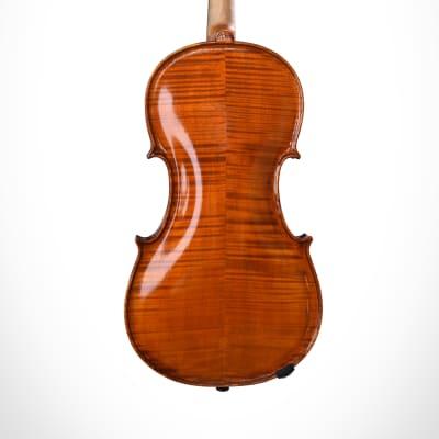 Interesting Violin Professional handmade Luthier Vicente Larraín + certificade